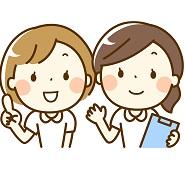 可愛い看護師さん2人