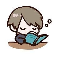 勉強中に居眠りしてしまった男の子