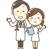 お医者さんと看護師さん