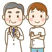 若い医師と年配の医師