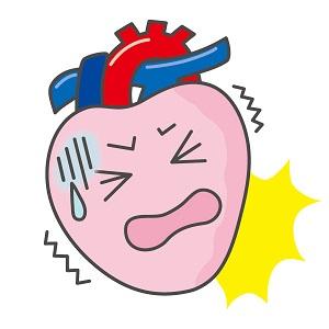 心筋梗塞や不整脈など心臓に異変が起こった