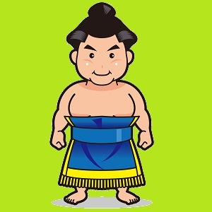 強そうなお相撲さん
