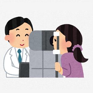 眼科で行われる検査