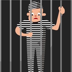 刑務所の受刑者
