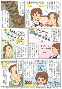ビタミンカスケード理論に関する漫画
