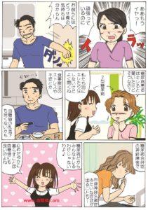 糖尿病患者がキレやすい件についての漫画