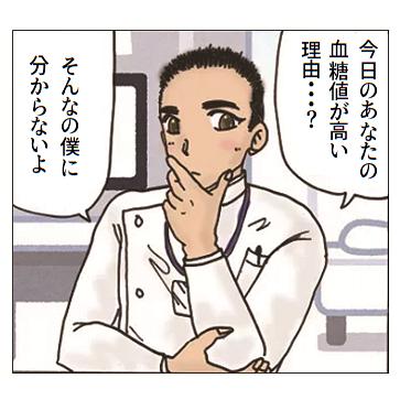 男性の糖尿病専門医