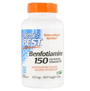 ベンフォチアミンのサプリメント