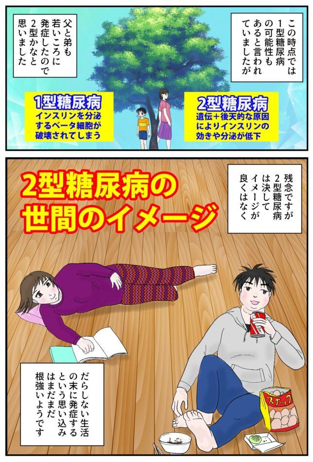糖尿病マンガ10ページ目