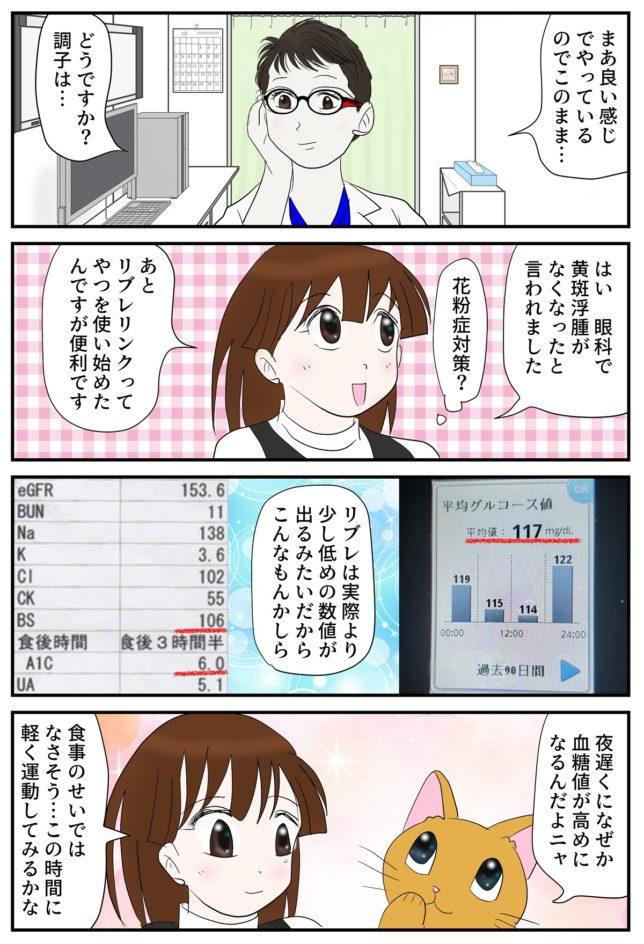 よっしー糖尿病内科へ行く